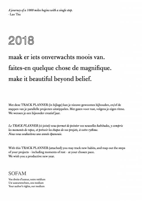 SOFAM - HAPPY 2018!