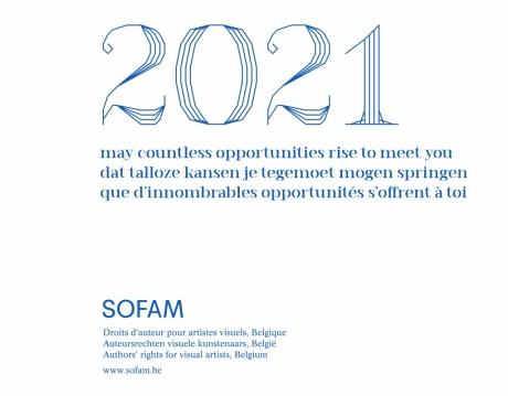 SOFAM - Vœux de nouvel an 2021